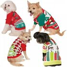 Ugly Christmas Sweater Pet Outfit Dog Cat Christmas Costume Fancy Dress