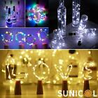 Wine Fairy String Lights Battery Cork Party Christmas Wedding Home Decoration
