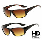 Mens Womens HD Amber Anti Glare Lens Inner Bifocal Sun Reader Sunglasses UV400