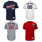 Customized Men's Minnesota Twins Navy/Red/Gray/White Flex Base Jersey M-3XL on Ebay