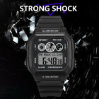 Mens Analog Digital Military Army Sport LED Waterproof Wrist Watch Watches DO image