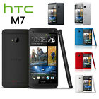 Android Phone Factory Unlocked Htc One M7 Black Blue Red Gold Silver 32gb New