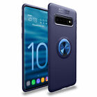 Back Case for Samsung Galaxy S8 S9 S10 Plus Note 10 Ring Holder Cover Protector