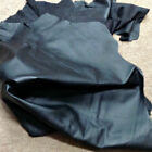 A72 Leather Pig Hide Pigskin Upholstery Craft Fabric Black 14 sq ft to 16 sq ft