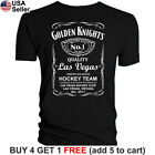 Las Vegas Golden Knights T-Shirt JD Whiskey Graphic Men Cotton Whisky $13.01 USD on eBay