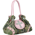 Dasein Studded Realtree Camo Shoulder Bag 3 Colors