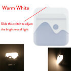 Dimmable Night Light Plug In LED Dusk to Dawn Sensor Lights Baby Kidsroom Stairs