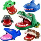 Funny Big Crocodile Mouth Dentist Bite Finger Toy Family Game For Kids Xmas