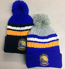 Golden State Warriors Pom Pom Beanie SF Skull Cap Hat Embroidered GS on eBay