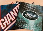 Reusable Official NFL New York Giants Jets Football Team Green Grocery Bags $11.99 USD on eBay