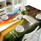 Sunset Falls Rectangular Tablecloth Table Runner For Wedding Banquet Party Decor