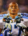Eddie George Tennessee Titans Running Back Art 1 8x10 - 48x36