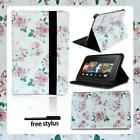Leather Tablet Stand Foilo Cover Case For Amazon Kindle Fire 7/HD 8/ HD 10 alexa