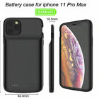 For iPhone 11 Pro Max Backup Charging Case Power Bank Portable Battery Charger