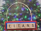 Tennessee Titans Football Christmas Ornament Scrabble Tiles Magnet $8.99 USD on eBay