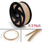 3 Pack 3D Printer Filament 1.75mm ABS PLA TPU PETG For Drawing Print Pen 1KG UA