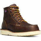 "Men's Danner Boots Bull Run Moc Toe 6"" Brown 15563"