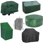4/6/8seater Waterproof Garden Patio Table Chairs Set Furniture Cover Bbq Outdoor