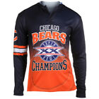 Chicago Bears Super Bowl XX Champions Poly Hoody Tee $29.99 USD on eBay