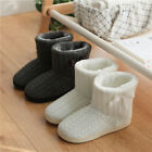 Womens Warm ankle boots Plush Slipper Boots Cozy Wool Indoor Outdoor Home Shoes