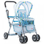 Baby Doll Toy Stroller Realistic Foldable Durable Steel Frame High-Quality New