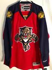 Reebok Premier NHL Jersey Florida Panthers Team Red sz L $10.5 USD on eBay