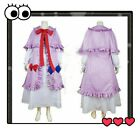 Touhou Project Cosplay Patchouli Knowledge Costume &