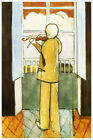 Artist Henri Matisse Poster Print of Painting Violinist at the Window