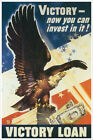 Victory Now Can Invest in It US military poster $15.99 USD on eBay