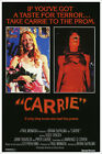 Carrie Sissy Spacek Vintage Horror Movie Poster