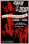 Orgy of the Dead Vintage Horror Movie Poster