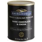 Ghirardelli 3.12 lb. Sweet Ground White Chocolate Flavored Powder (select qnty)