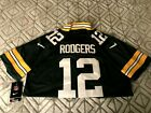New Green Bay Packers Aaron Rodgers #12 NFL Adult Jerseys $38.99 USD on eBay