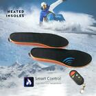 Electric Heated Shoe Insoles Sole Foot Warmer Feet Rechargeable Remote Control