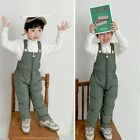 Girls/Boys Soft Thick Pants Children Winter Warm Cotton Filling Kids Rompers NEW