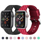 Silicone Sports Watch Band Strap for Apple iWatch Series 5 4 3 2 40/44mm 38/42mm image
