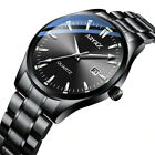 Mens Watches Fashion Luxury Stainless Steel Band Sport Analog Quartz Wristwatch  image