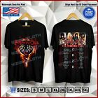 "New Motley Crue T-Shirt ""The Stadium Tour 2020"" with Update Dates Shirt S-5XL image"