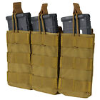 Condor MA27 MOLLE Triple Open Top 30 Round Rifle Magazine Mag Pouch HolsterMagazine Pouches - 73965