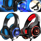 3.5mm Gaming Headset Deep Bass Game Earphone Gamer Headphone With Holder 2 Color