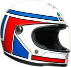 AGV Legends X3000 Lucky Motorcycle Helmet Red/White/Blue