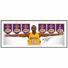 KOBE BRYANT LOS ANGELES LAKERS MINI WINGS SIGNED FRAMED NBA POSTER PRINT on eBay