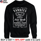 New York Yankees Sweater Sweatshirt Shirt Whiskey JD Graphic NY Whisky NYC on Ebay