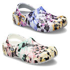 Crocs Classic Tie Dye Mania Clogs Printed Lightweight Patterned Slip On Shoes
