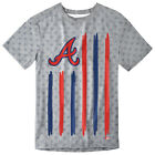 Atlanta Braves Big Logo Flag Tee by Forever Collectibles on Ebay