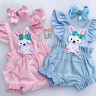 Kyпить Easter Bunny Clothes Newborn Kids Baby Girl Romper Bodysuit Jumpsuit Outfits US на еВаy.соm
