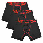 AND1 Men's 3 Pack Performance Boxer Briefs (S01)