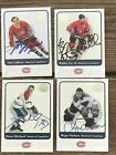 Montreal CANADIENS 2001 Fleer Greats of the Game Signed Autograph ** Pick a Card $13.95 USD on eBay