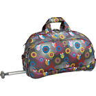 """J World New York Christy 20"""" Rolling Duffel 4 Colors Softside Carry-On NEW"""