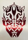 Star Wars Darth Maul Logo Vinyl Decal Sticker Pick Color Size Oracal 651 $2.0 USD on eBay